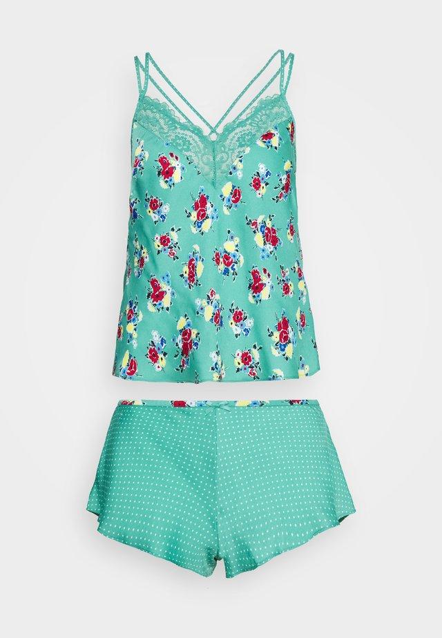 FLIRTY CAMI - Pyjama - green mix