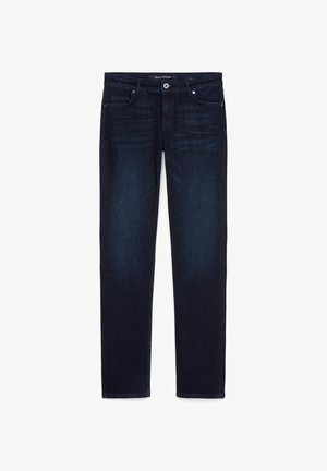 ALBY STRAIGHT - Straight leg jeans - red line denim