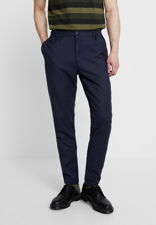 SAXO TOWER - Pantalones - navy