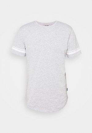 ONSMATT LIFE LONGY STRIPE - Print T-shirt - light grey melange