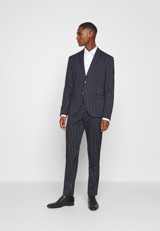 BOLD STRIPE SUIT - Kostuum - dark blue