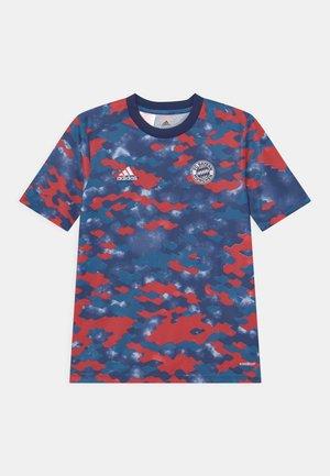 FC BAYERN MÜNCHEN UNISEX - T-shirt print - dark marine/fcb true red/dark blue