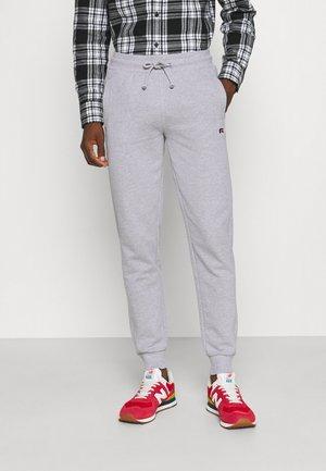 ERNEST - Teplákové kalhoty - new grey marl