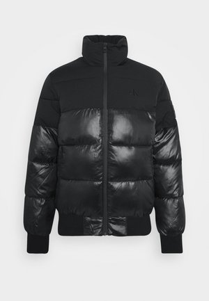 MATTE AND SHINE PUFFER - Talvitakki - black