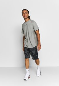 Under Armour - PROJECT ROCK TERRY PRINTED SHORT - Sports shorts - black/pitch gray - 1