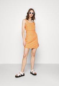 Glamorous - MAYA - Day dress - rust gingham - 1