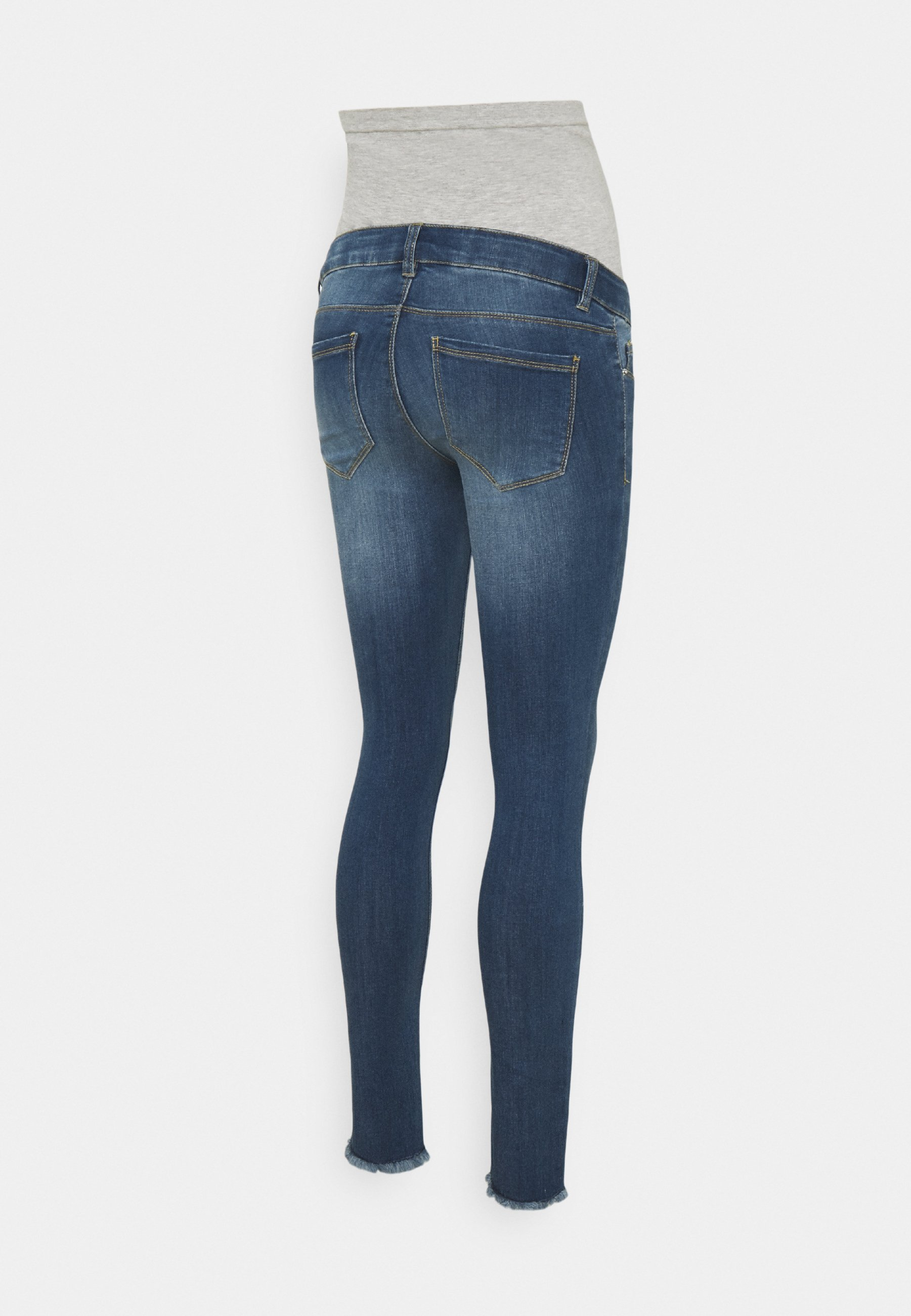 Women PCMDELLA 7/8 RAW EDGE JEANS - Jeans Skinny Fit
