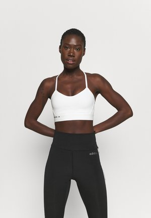 KARLIE KLOSS LIGHT BRA - Medium support sports bra - off white