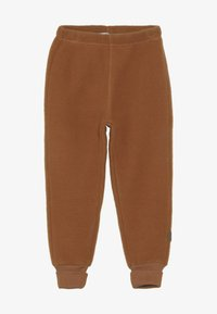 mikk-line - PANTS - Træningsbukser - leather brown - 2