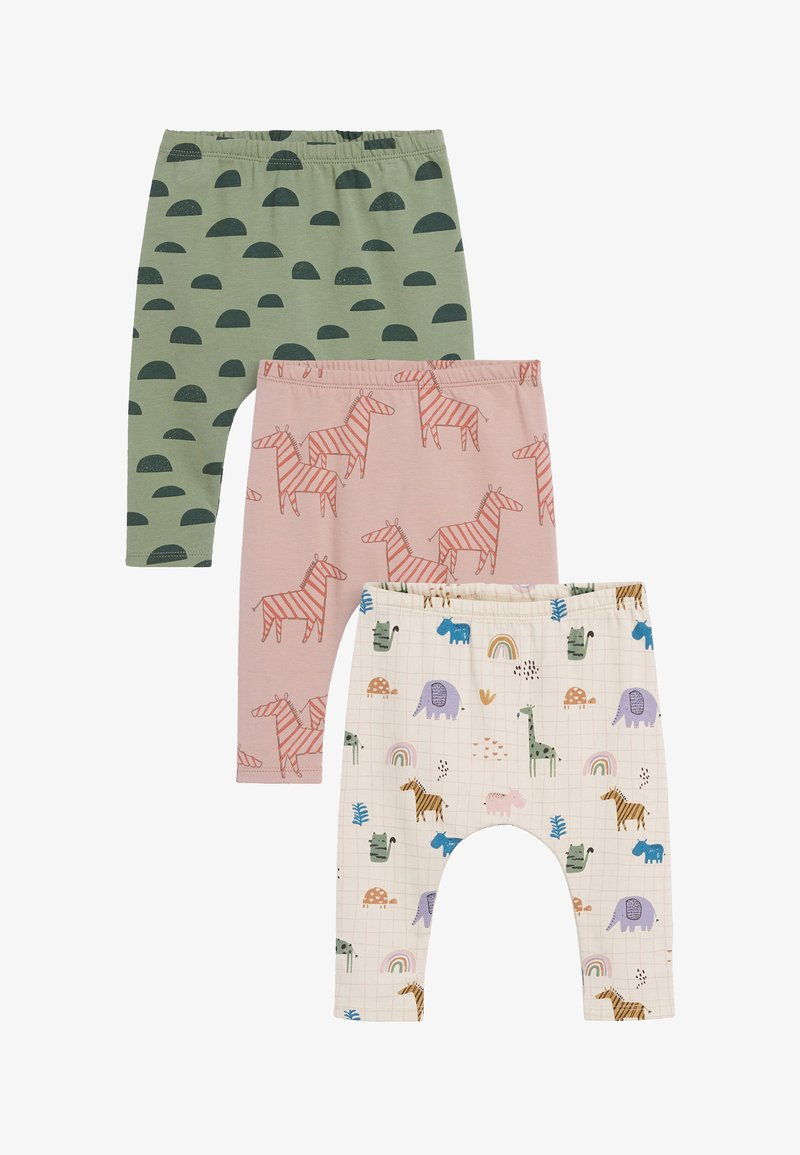 Next - THREE PACK CHARACTER  - Leggings - Trousers - pink