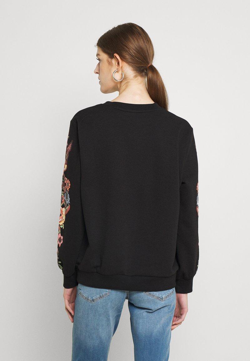ONLY - ONLCONNY  LIFE O NECK - Sweatshirt - black