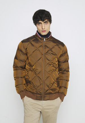 TWO TONES - Giubbotto Bomber - brown