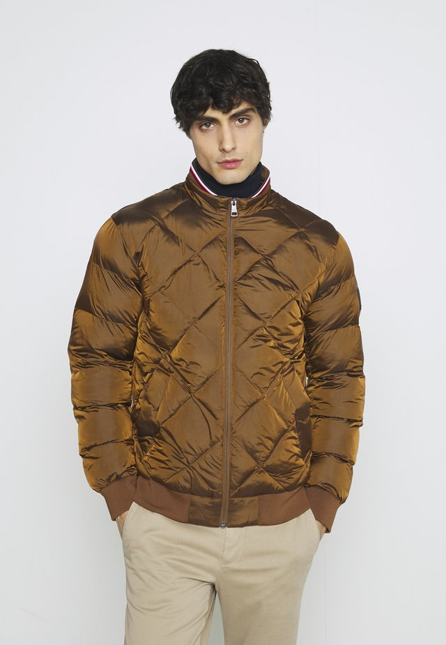 TWO TONES - Bomber Jacket - brown