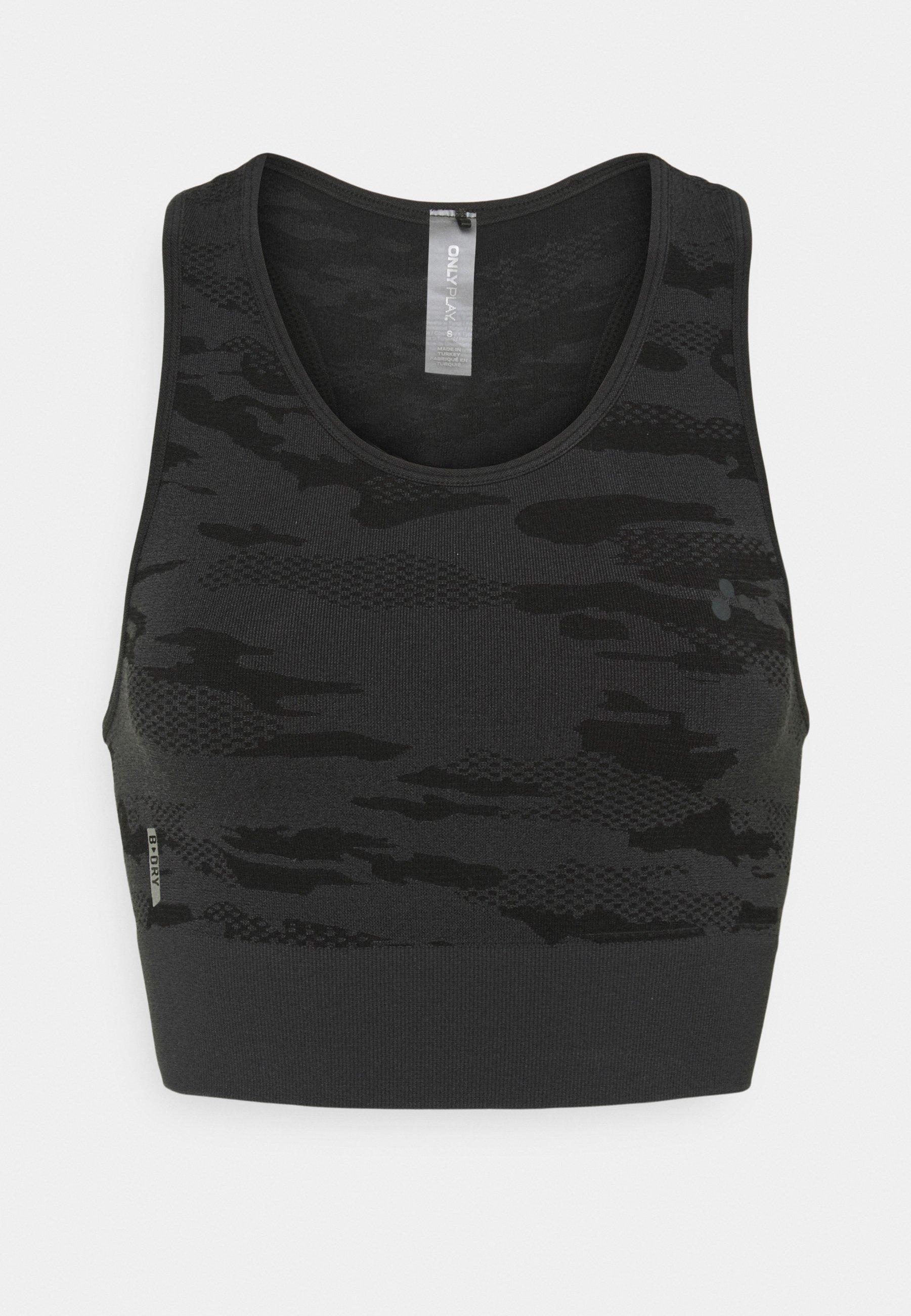 Women ONPJAVO CAMO CIRCULAR BRA - Medium support sports bra