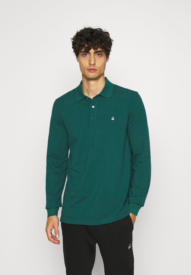 Koszulka polo - bottle green