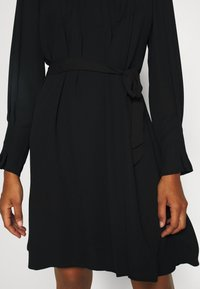 Selected Femme Tall - SLFLIVIA SHORT DRESS NOOS - Kjole - black - 5