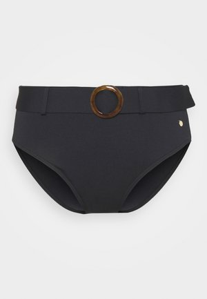 PANT HIGHWAIST - Bikini bottoms - black