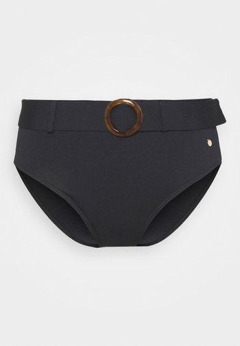 PANT HIGHWAIST - Bikini bottoms - black