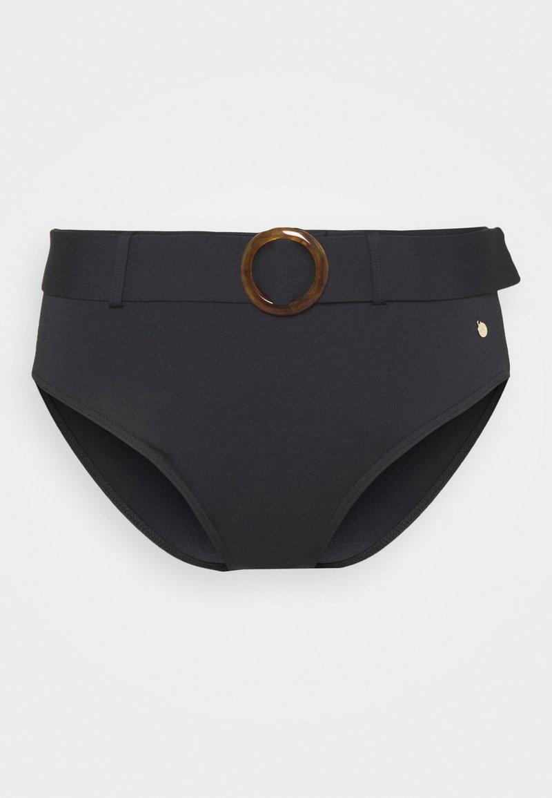 s.Oliver - PANT HIGHWAIST - Bikini bottoms - black