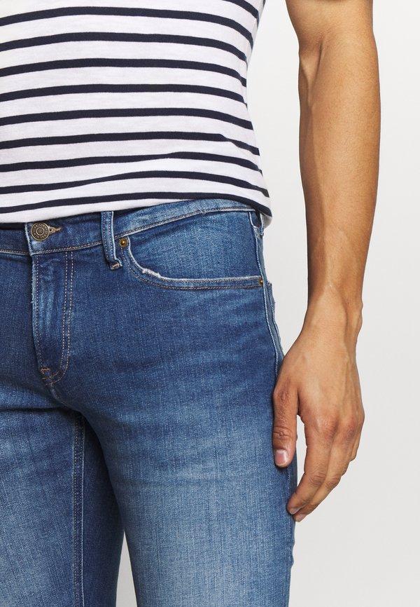 Tommy Jeans SCANTON - Jeansy Slim Fit - blue denim/niebieski denim Odzież Męska HBPT