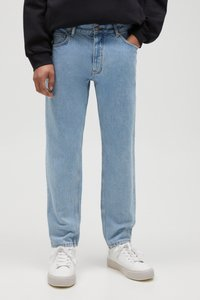 PULL&BEAR - Straight leg -farkut - light blue - 0