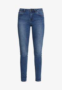 Vero Moda Tall - VMTANYA PIPING - Jeans Skinny Fit - medium blue denim - 3