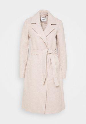 ONLGINA WRAP COAT - Płaszcz wełniany /Płaszcz klasyczny - humus/melange
