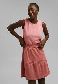 Esprit - A-line skirt - blush - 0