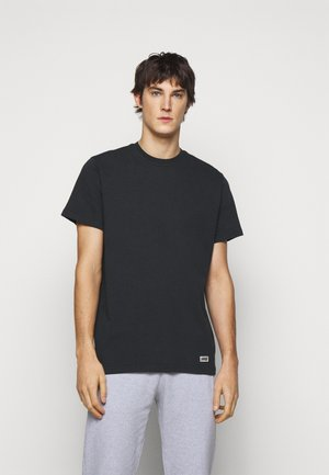 BOX LOGO TEE - Basic T-shirt - black