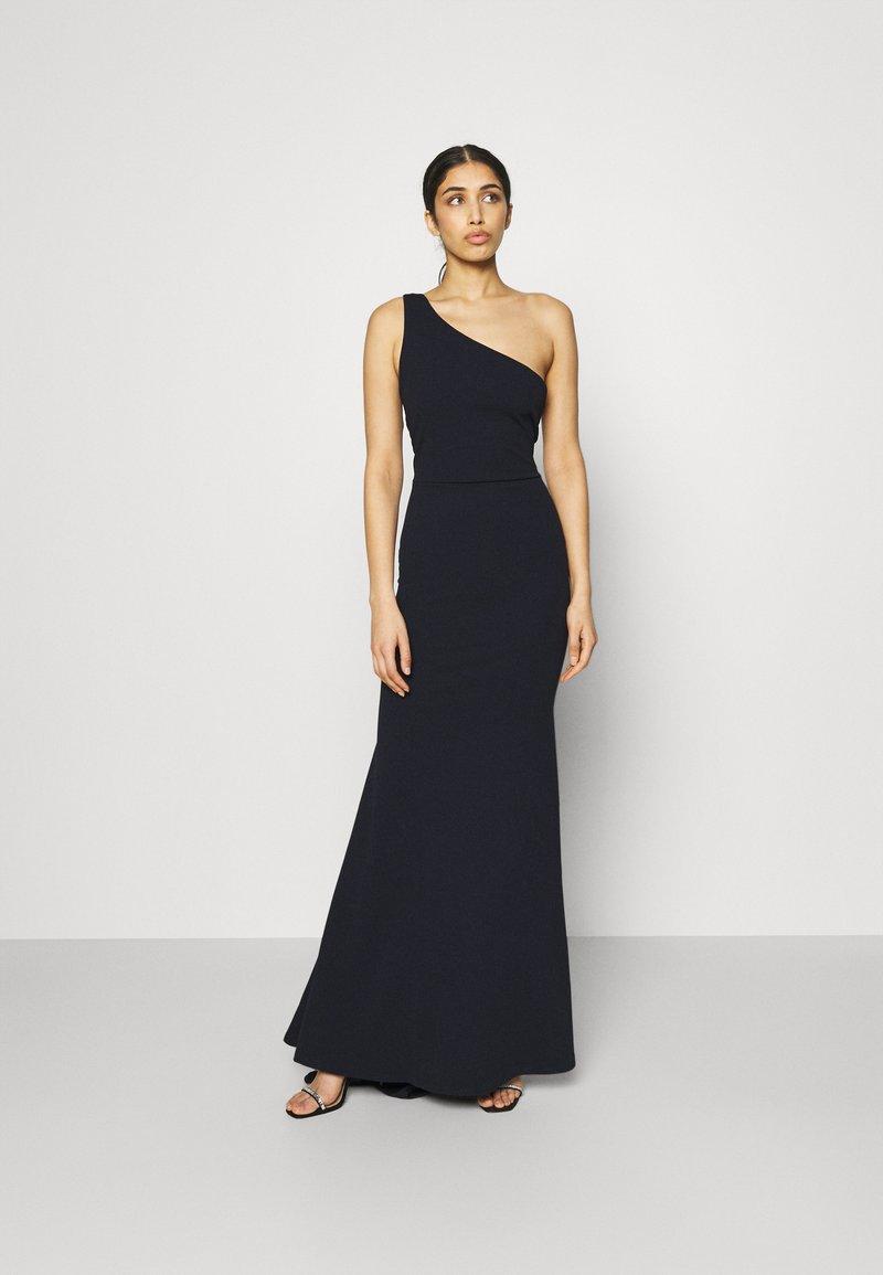 Missguided - ONE SHOULDER TWIST BRIDESMAID DRESS - Suknia balowa - navy