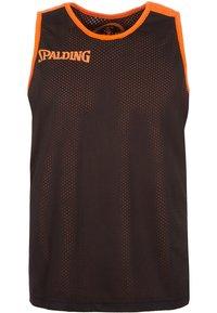 Spalding - 2 PACK - Sports shirt - orange/black - 4