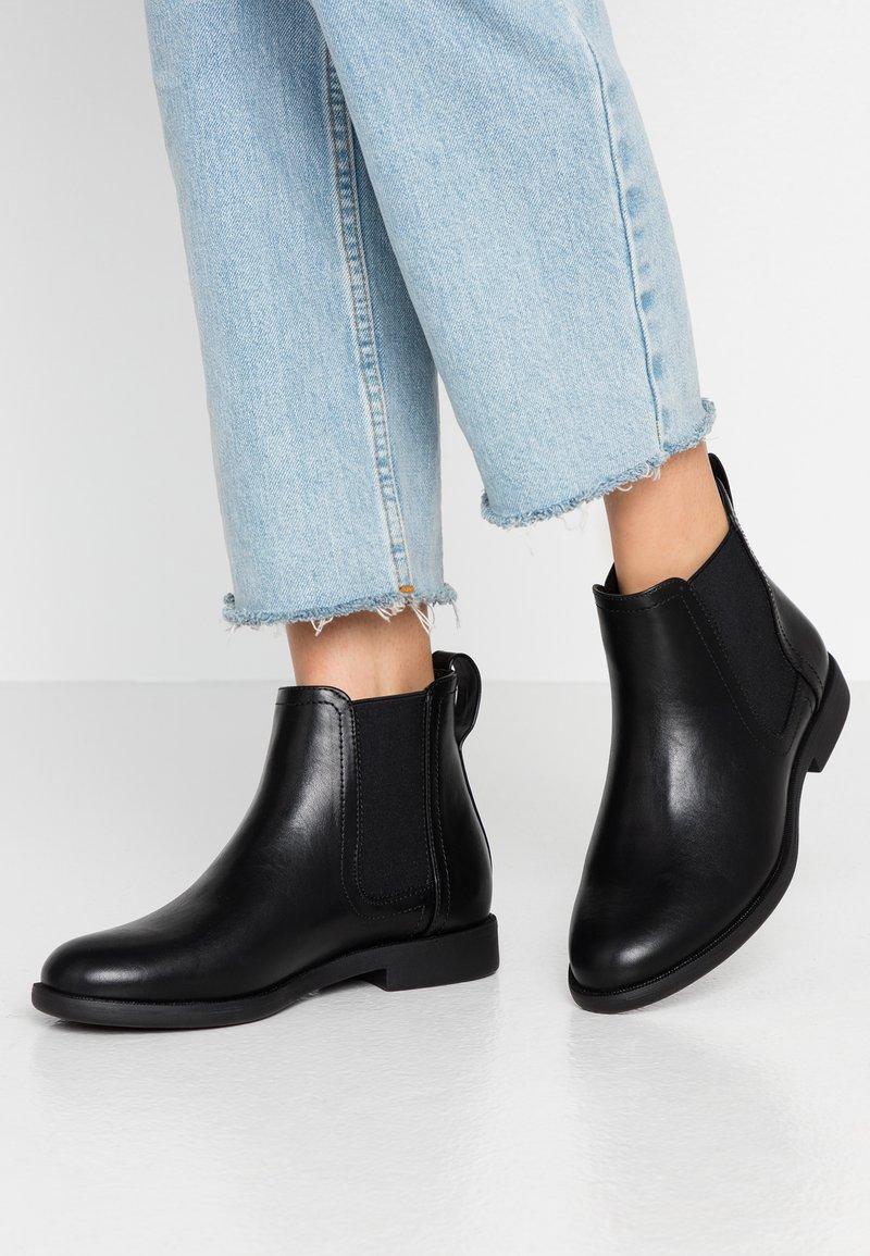 Anna Field Wide Fit - Kotníková obuv - black