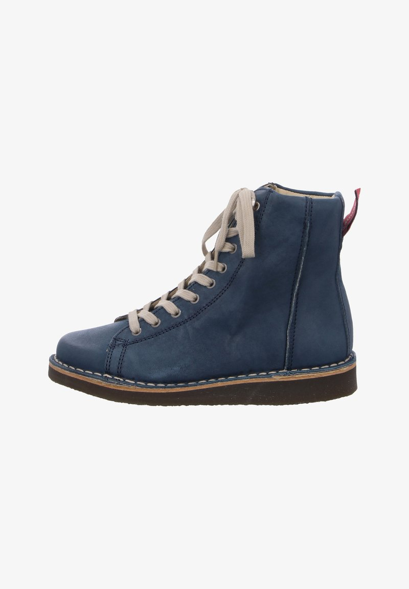 Grünbein - Lace-up ankle boots - blau
