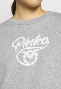Pinko - BUFFY FELPA - Sweatshirt - grigio pioggerlla - 4
