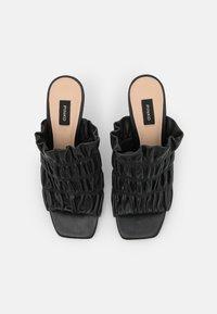 Pinko - CAMELLIA SABOT  - Pantofle na podpatku - black - 4