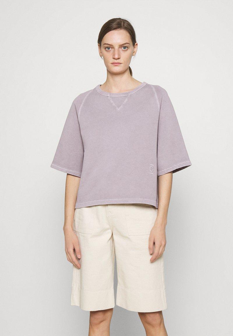 CLOSED - WOMEN - T-shirt imprimé - dark mauve