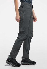 Haglöfs - ZIP OFF PANT - Outdoor trousers - magnetite - 2