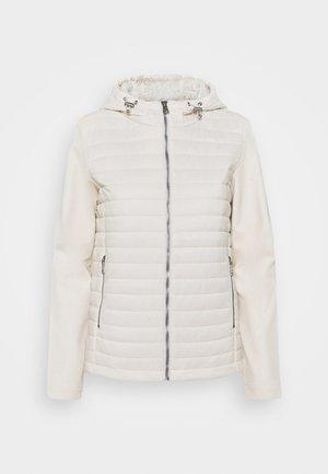 HOODED JACKET - Sportovní bunda - off white