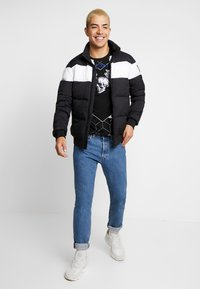 AFTERMATH - TIGER SKULL PRINT - Print T-shirt - black - 1