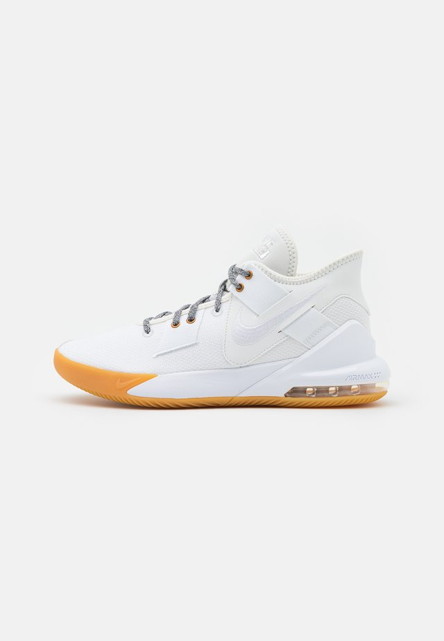 AIR MAX IMPACT 2 - Basketbalschoenen - summit white/white/photon dust/metallic bronze/light brown