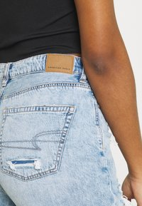 American Eagle - MOM JEANS - Jeans straight leg - high tide - 4