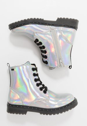 Kotníkové boty - silver