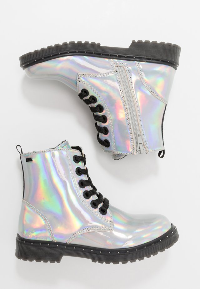 Botines - silver