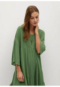 Mango - BAMBU-H - Sukienka letnia - green - 4