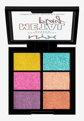 METAL PLAY PIGMENT PALETTE 01 - Eyeshadow palette - -