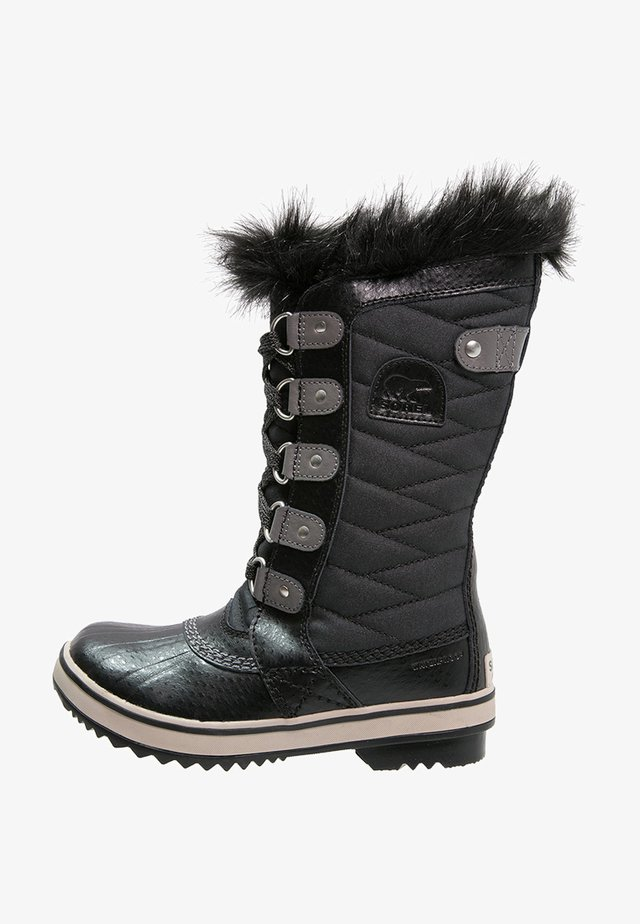 TOFINO II - Winter boots - black/quarry