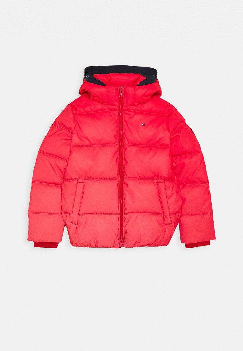 Tommy Hilfiger - PADDED REFLECTIVE JACKET - Zimní bunda - red