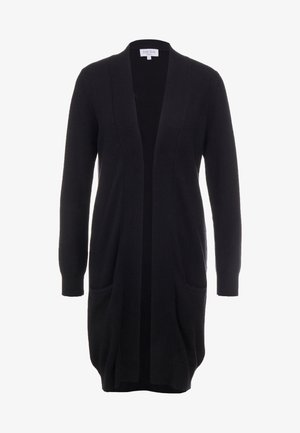 POCKET LONG - Strikjakke /Cardigans - black