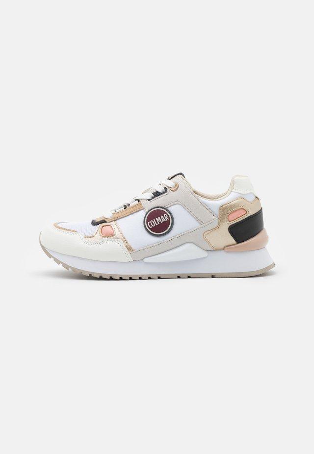 TYLER - Sneakers laag - white/beige