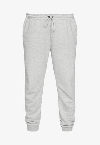 PANT - Träningsbyxor - grey heather/white